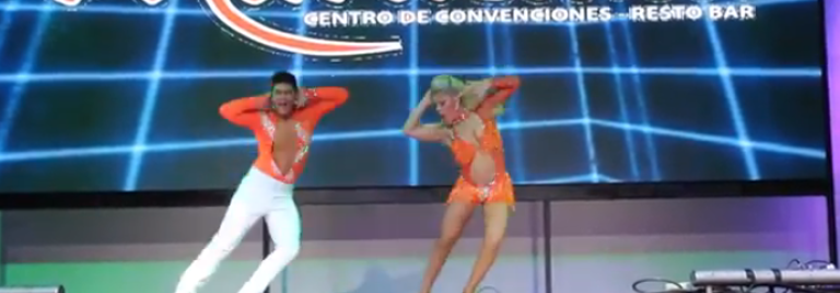 Karen Forcano y Ricardo Vega at Peru Salsa Congress 2014