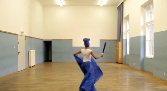 Orisha Yemaya Dance from Cuba 6-16-2014b