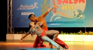 Summer Salsa Fest Varna 2013 - Adrian y Anita  6-12-2014